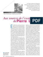 Aux sources de l'exotisme de Pierre Loti