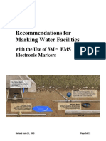 3 m Marking Guidelines for Water Facilities
