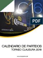 Copa C16 Calendario