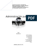 Conceptos de Administracion Publica