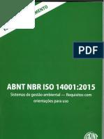 ABNT NBR ISO 14001-2015