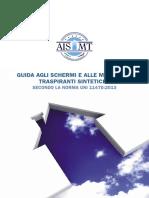 AISMT Guida Agli Schermi e Alle Membrane Traspiranti Sintetiche Secondo La Norma Uni 11470 2013