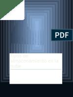 Informe de losTipos de Almacenamiento en La Nube