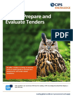 How to Prepare and Evaluate Tenders