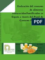 Evaluación Del Consumo de Alimentos Enriquecidos