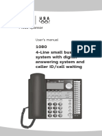 AT&T 1080 Phone manual