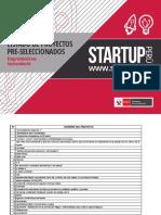 Lista de Postulantes a Startup Perú 4G