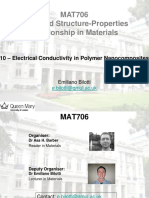 polymer Nanocomposites and Electrical Conductivity