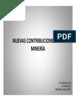 Contribuciones a La Mineria