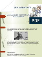 Historia de la geriatria