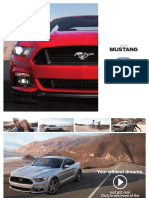Brochure Ford Mustang 2015
