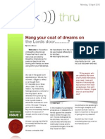 ISSUE 02 Devotional - Coat of Dreams