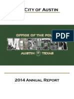 Office of Police Monitor - Annual Report 2014