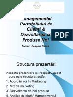 Managementul Portofoliului de Clienti