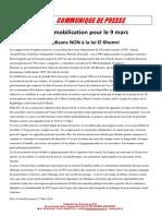 Journee Mobilisation 9 Mars