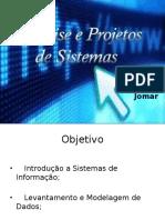 Análise e Projetos
