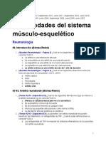 Exaìmenes de Meìdica III - Geriatriìa, Reumatologiìa y Traumatologiìa - Organizados Por Tema