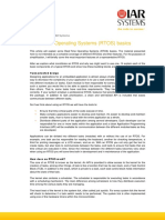 Real-Time Operating Systems (RTOS) Basics