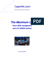 Maximum Lot Course