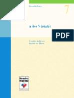 Programa de Estudio 7° Básico - Artes Visuales (año 2000)