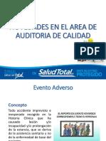Novedades en El Area de Auditoria de Calidad
