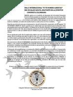 RECHAZO AL ASESINATO DE KLAUS ZAPATA MILITANTE DE LA JUVENTUD COMUNISTA COLOMBIANA