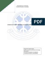 Lista de Revistas Indexadas en ISI Para Ciencias Sociales