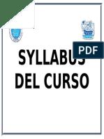1.Syllabus Del Curso