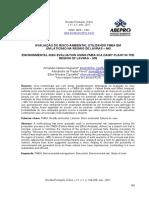 2. Avaliação Do Risco Ambiental Utilizando FMEA Em Um Laticinio Na Região de Lavras