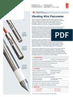 Vibrating Wire Piezometer Rst