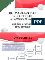 Intoxicación Por Insecticidas (AP)
