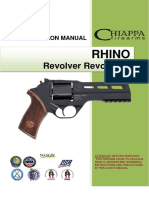 Chiappa Rhino Revolver User Manual