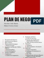 Plan de Negocios (Mercadeo)