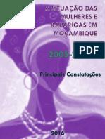 Situaçao Da Mulher e Rapariga Em Moçambique
