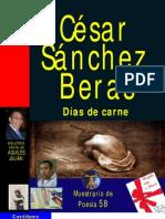 DÍAS DE CARNE, POR CÉSAR SÁNCHEZ BERAS