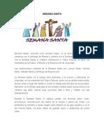 Qué Es Semana Santa Prensa..