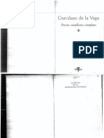 Poesía Castellana Completa - Garcilaso de La Vega (Ed. Cátedra)