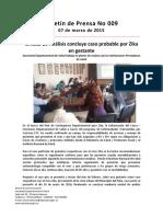 Boletín 009 Unidad de Análisis Concluye Caso Probable Por Zika en Gestante