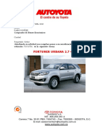 fortuner automatica 4x2