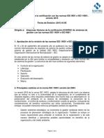 Plan Transicion ISO 9001 e Iso 14001