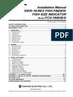 FCV1900 Installation Manual B
