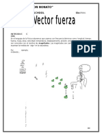 Vector Fuerza