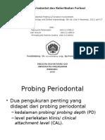 probing periodontal dan keterlibatan furkasi