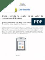Como Convertir Tu Celular en Lector de Documentos Digitales