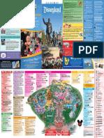 Disneyland Park Map !!!