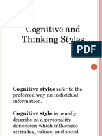 Cognitive and Thinking Styles.pptx