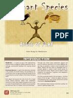 Dominant Species Rulebook