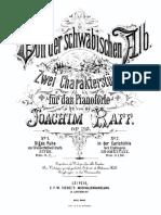 Joachim Raff - Zwei Charakterstuecke fuer das Pianoforte, Op. 215