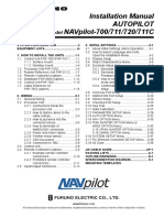 NAVpilot700 711 711C 720 Installation Manual J