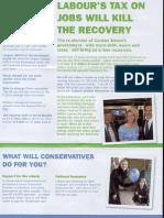Karen Allen election leaflet